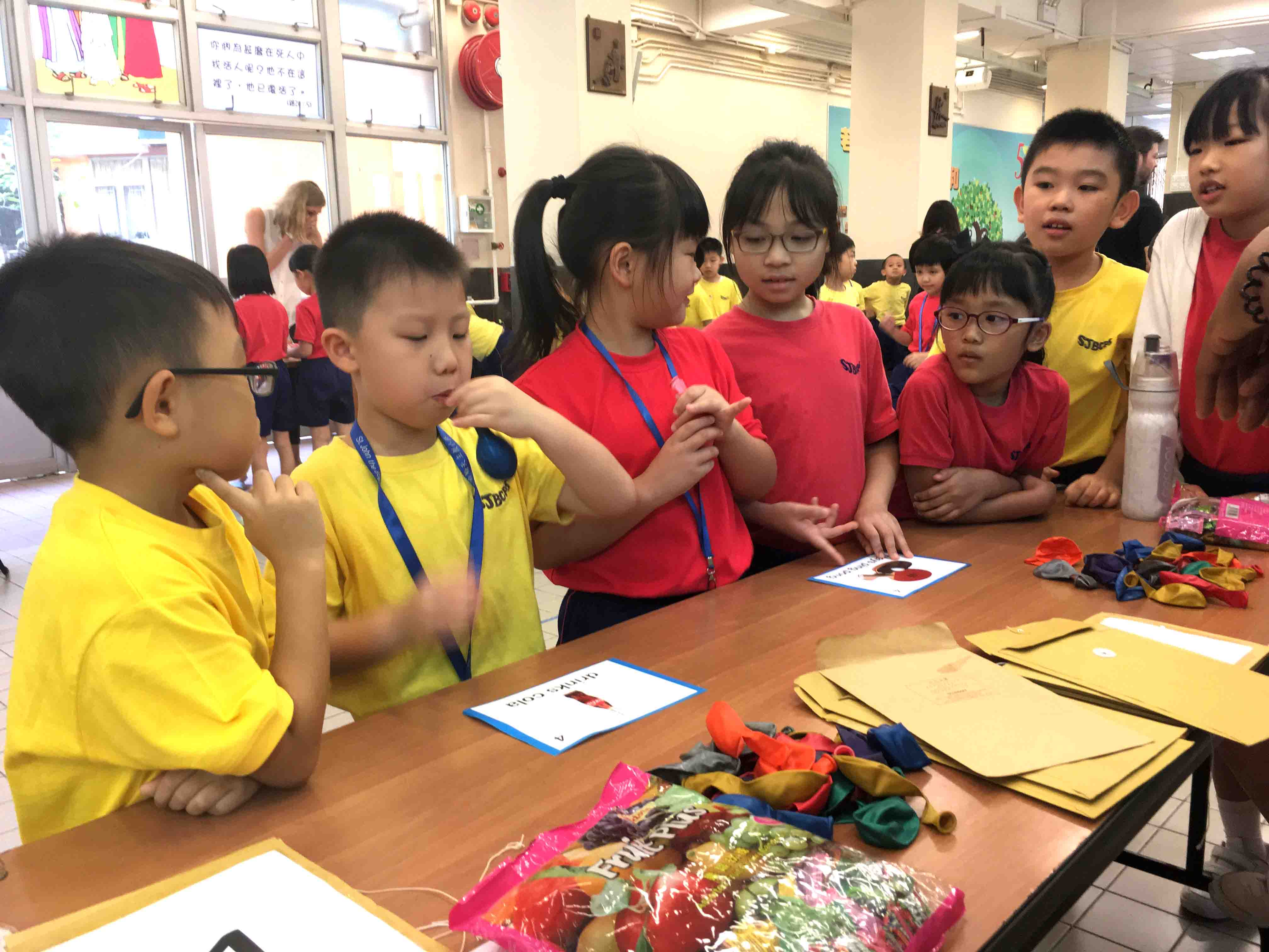 English day Game Booth